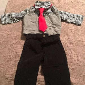 Baby Boys Four Piece Outfit